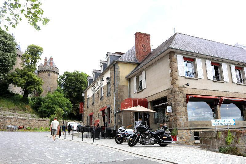 Relay motard hotel du lac combourg